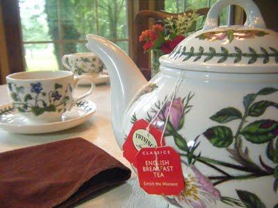 Proper tea in a proper china cup