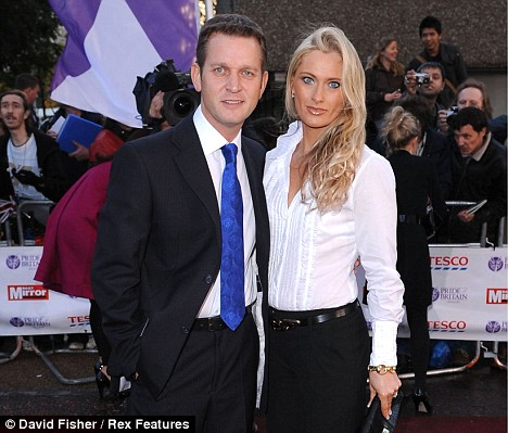 Jeremy Kyle and wife