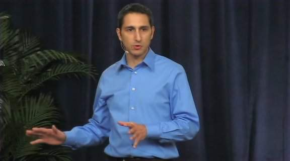 Self improvement begins with an ill-fitting blue shirt on every fucking video