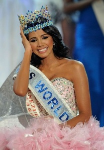 I once dated a 3rd-placer in Miss World
