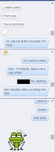 Stupid FB chat 1