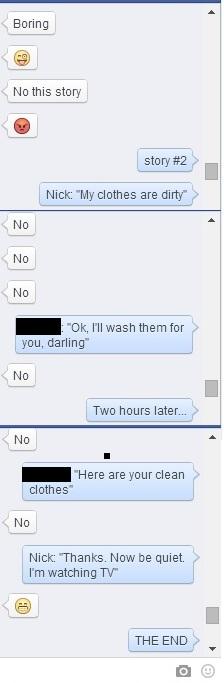 Stupid FB chat 2