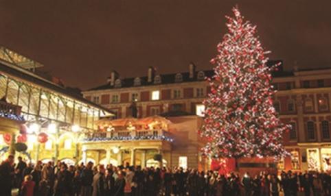 Covent Garden in winter