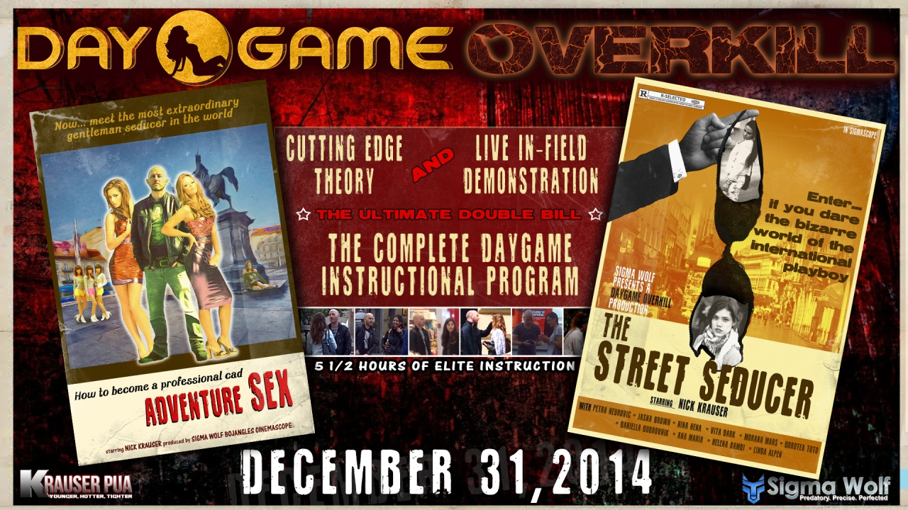 Daygame Overkill Double Bill Poster