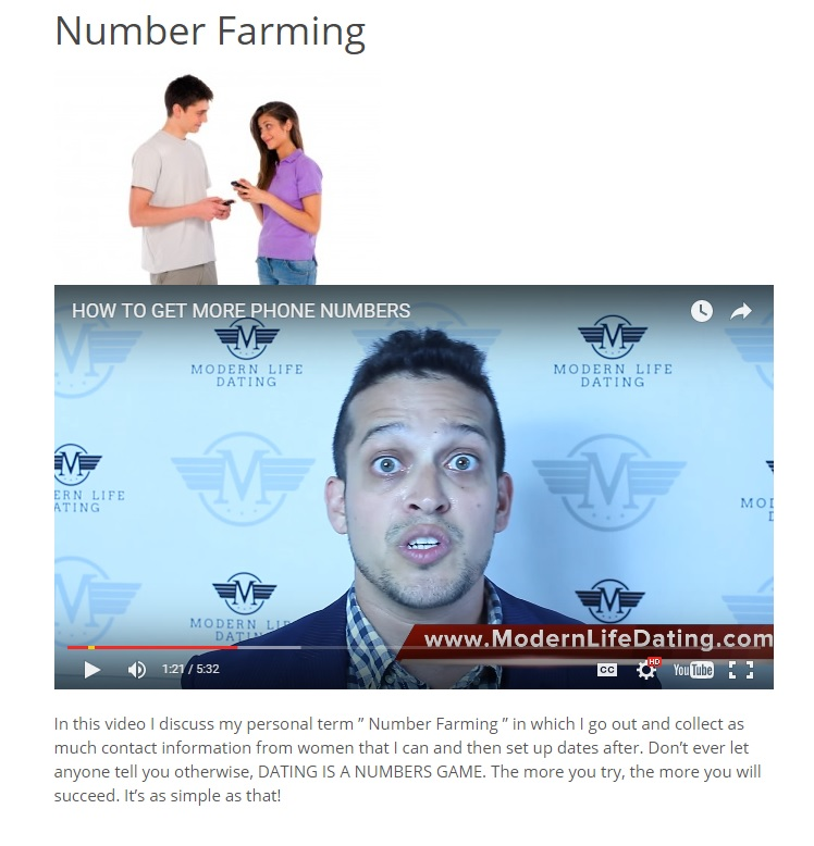 """my personal term Number Farming"""