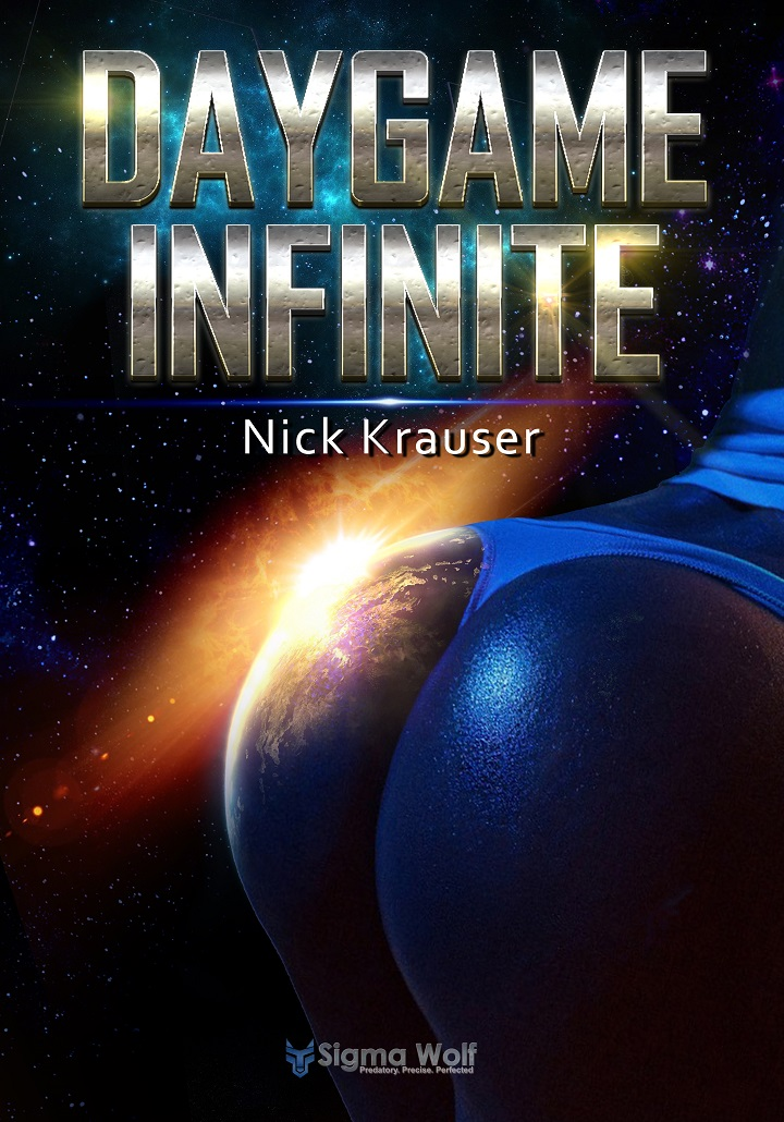 Daygame Infinite hardback front cover
