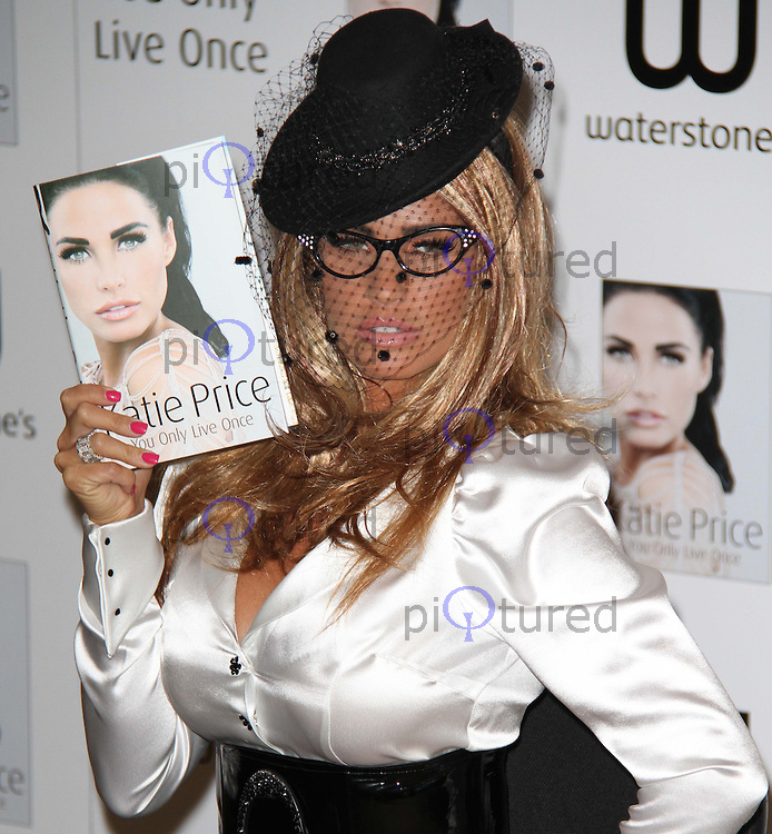 Katie Price - You Only Live Once - Book Launch