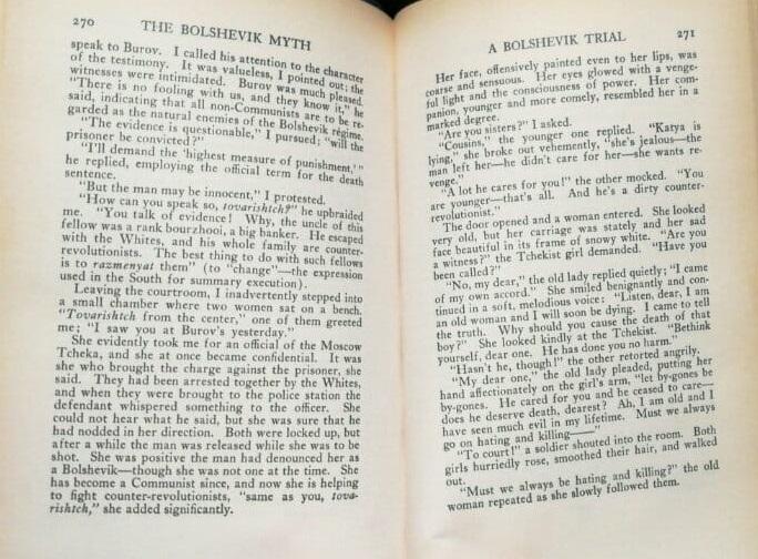Bolshevik trial
