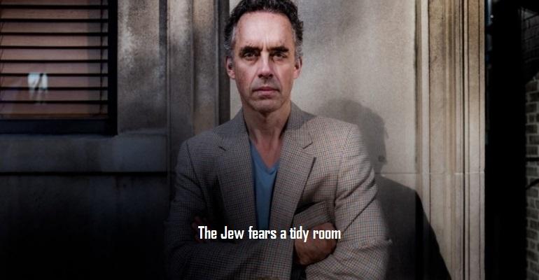 Jordan Peterson Jew Fears Tidy Room