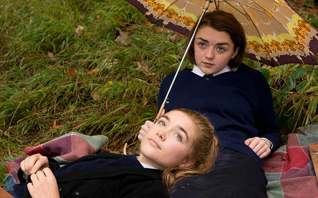 Florence Pugh and Maisie Williams in 'The Falling'