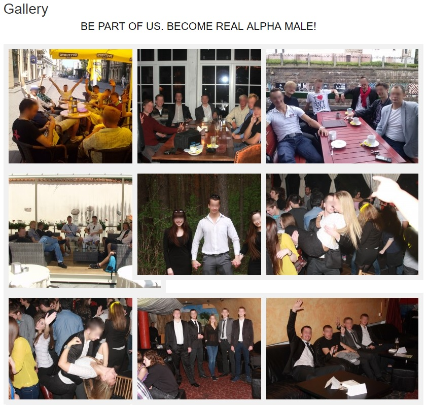Many Alpha Mans