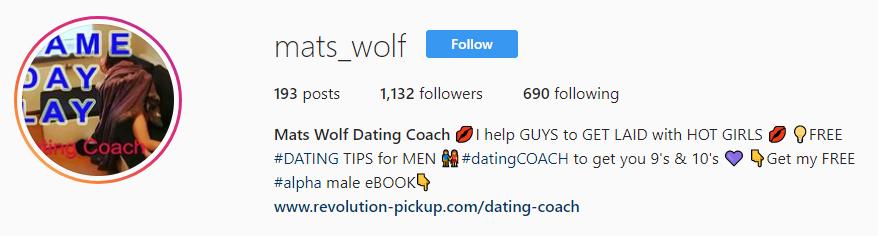 Mats Wolf instagram