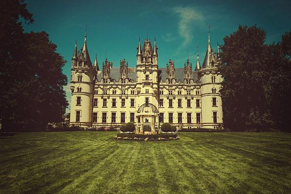 french-chateau-lawn-sunny-day