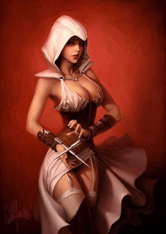 hot-assassin-girl