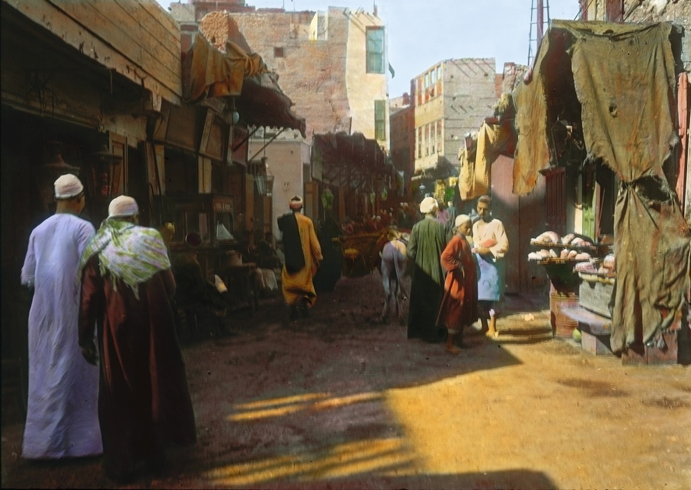 Early Colour Photos of Cairo in 1910 (6)