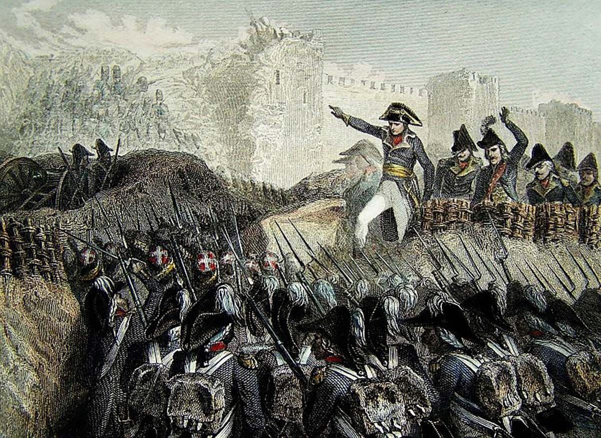 Siege of Acre Napoleon