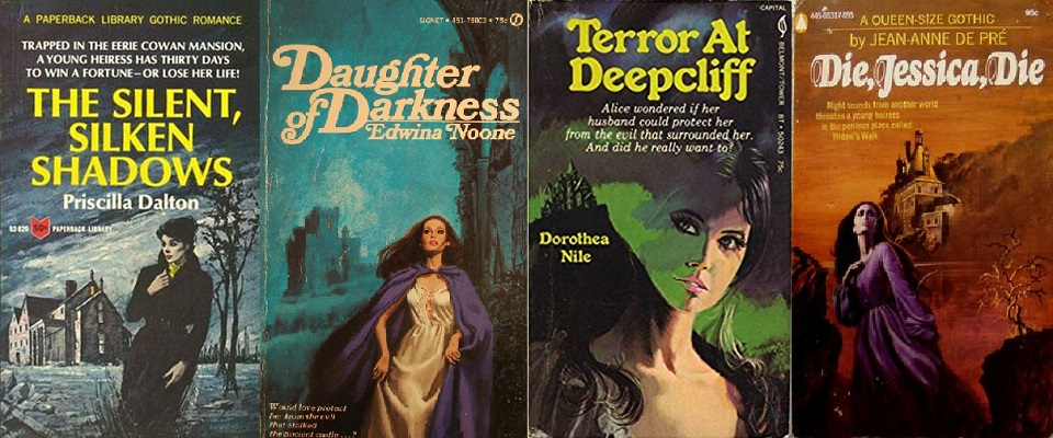 Avallone Gothic Paperbacks